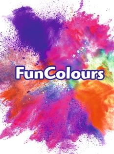 Notizie colorate! Scopri i FunColours di FunCakes