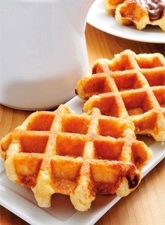 Waffles belga da oggi fatte in casa